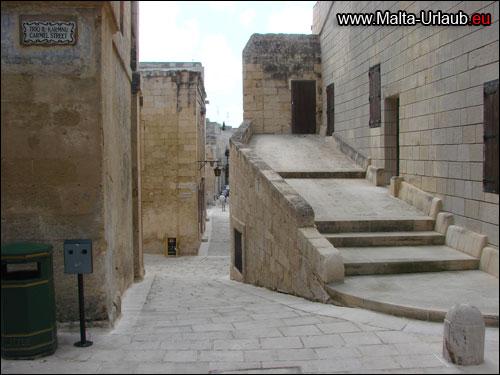 Malta Mdina Orientierung