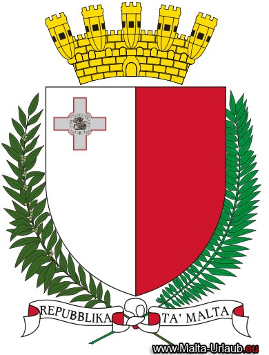 Malta Wappen