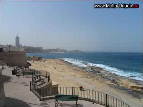 Malta Strandwanderung